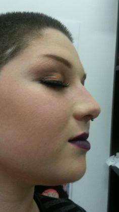 Colour photography makeup