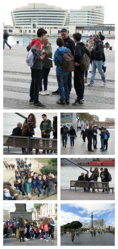 Entrevistes amb anglès a turistes de Barcelona. Àmbit Llengua Anglesa. 3r d'ESO.