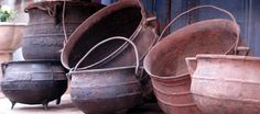 Potes de hierro y cobre, Antiguedades Carroza