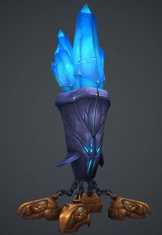 Flying Diamond Container, Ayhan Aydogan on ArtStation at https://www.artstation.com/artwork/flying-diamond-container