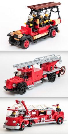 Lego Fire Trucks More