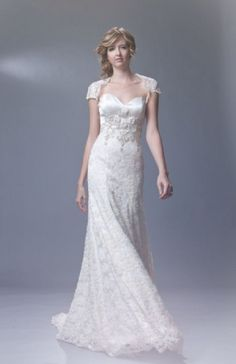 White and Mint Green Wedding Dress | Colorful Wedding Dresses ...
