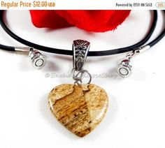 50% off!     Heart Necklace, Heart Pendant Necklace, Heart Jewelry, Agate Pendant, Agate Necklace, Heart Charm Necklace, Heart Charm Jewelry, Trending Womens Jewelry. Birthday Gifts under 15  Presenting a heart necklace that is a 20 inch heart pendant necklace. This heart jewelry is an agate pendant necklace and heart charm necklace. Add this agate necklace to your collection of womens trending heart charm jewelry designed and created by EnchantedRoseShop as part of her gifts under 15…
