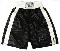 Riddick Bowe Signed Everlast Boxing Trunks – « Impulse Clothes