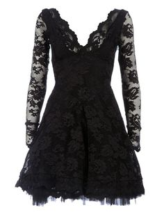 $3736 BALENSI 'Berenice'lace Print Dress