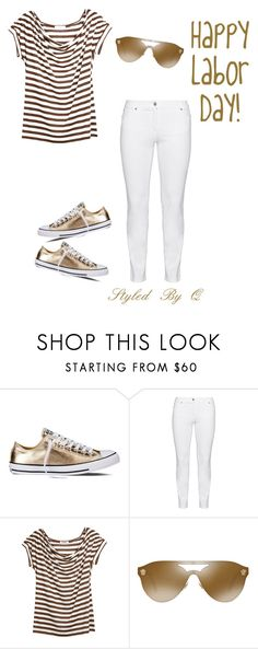 """""""Happy Labor Day!"""" by quintan ❤ liked on Polyvore featuring Converse, Steilmann, Farhi by Nicole Farhi and Versace"""
