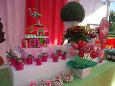 Festas e Cia - Arquitetura e Eventos: Moranguinho - 1 aninho da Ana Beatriz