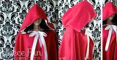 Patron gratuit: une cape avec capuche, pour grands et petits | tutoriels de couture | Blog de Petit Citron