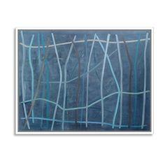 Bernard Dunaux Antigone Paintings (5.390 ARS) ❤ liked on Polyvore featuring home, home decor, wall art, los angeles wall art, blue wall art, motivational wall art, island wall art and brush strokes painting