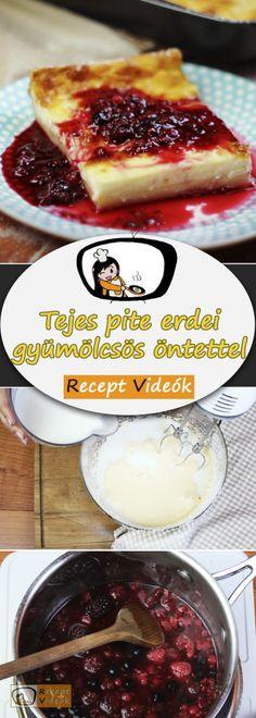 Milk cake with forest fruit sauce - - Sweet Potato Pancakes Vegan, Sour Cream Pancakes, Banana Oatmeal Pancakes, Almond Pancakes, Yogurt Pancakes, Cinnamon Roll Pancakes, Low Carb Pancakes, Homemade Pancake Syrup, Easy Homemade Pancakes
