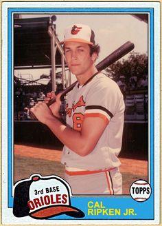1981 Topps Cal Ripken, Baltimore Orioles, Baseball Cards That Never Were