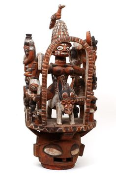 Yoruba Epa/Elefon Mask, Nigeria