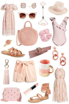 85a38d764eb Summer Blush Crush  Blush pink summer outfit inspiration.