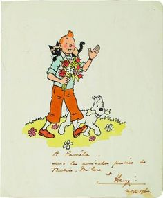 Hergé's tributes
