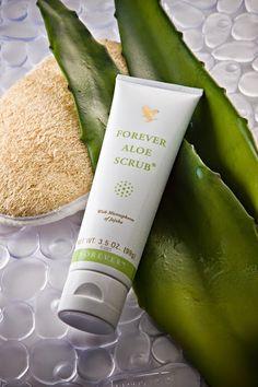 Conoce un exfoliante a base de aloe vera #aloevera #jojoba #exfoliante #piellimpia,