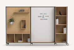 Multipurpose Furniture, Modular Furniture, Furniture Design, Office Lockers, Office Dividers, Room Dividers, Free Standing Wall, Trellis Design, Screen Design