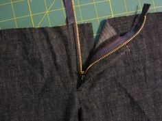 how to sew a pant fly like a pro