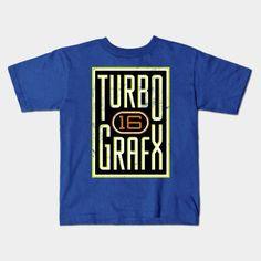 Lightly Distressed Turbografx 16 Shirt Young T-Shirt