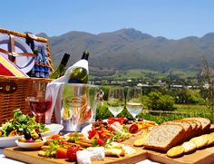 You don't have to look far to find a dreamy picnic spot in the Cape. Here's our picks of the best gourmet picnics in the Cape. Picnic Spot, Picnic Time, Summer Picnic, Chicken Liver Pate, Pause, Feeding A Crowd, Cape Town, South Africa, Africa Travel