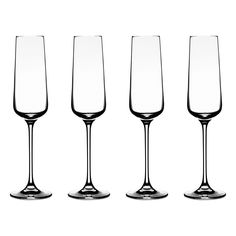 Cuisinart Vivere Champagne Flute Glassware (Set of 4) | Overstock.com Shopping - The Best Deals on Toasting Flutes