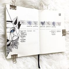 B E C K Y (@bujowithbecky) sur Instagram bullet journal illustration