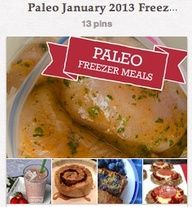 Just in time for freezer-meal month! Paleo slow cooker freezer recipes.