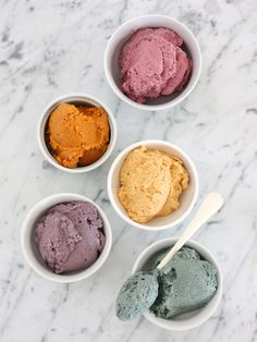 #Natural #Colored #Frosting--it's healthier and than these colors are prettier than the pre-bought stuff anyway
