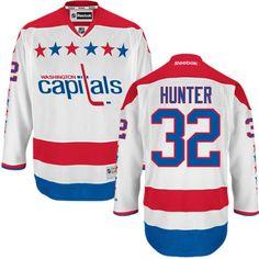 3da4717aa Washington Capitals 32 Dale Hunter 2011 Winter Classic Jersey - White