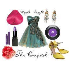 The Capitol, created by character-inspired-style on Polyvore
