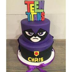 Image result for teen titans go raven cake