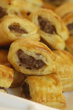 The Best Sausage Roll Recipe Salad Appetizer Recipe, Appetizer Salads, Easy Appetizer Recipes, Appetizers, Sausage Bread, Sausage Rolls, Chicken Sausage, Best Sausage Roll Recipe, Tasty Kitchen