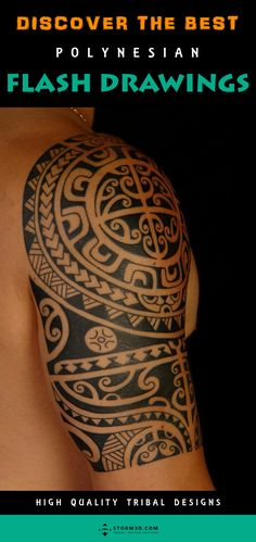 Check out this awesome set of tribal by Mark Storm A range of from to ready for your next tattoo!