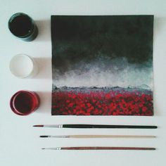 art, color, colors, colour, colours, dark, drawing, grunge, hipster, indie, painting, pale, photography, red, tumblr, vintage
