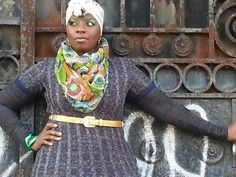 Merazh Roberts owner of Merazh Beauty Boutique rockin her signature street style .718 Madison st bedstuy BROOKLYN♥♥♥