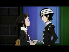 Tsugumi Meets Death The Kid- Soul Eater Not! - YouTube