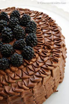 """Моему старшему сыну очень понравился торт """"Орбита"""" , и когда он снова попросил меня его приготовить, то я решила его чут..."""