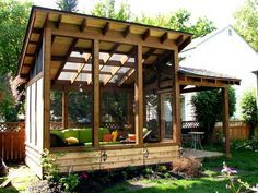 detached screen porch - Bing images