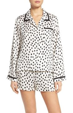 kate spade new york satin pajamas available at #Nordstrom