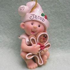 polymer clay christmas images | Unique Handmade Polymer Clay Christmas Ornaments | Family Holiday