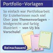 Informationen zum Kinderportfolio