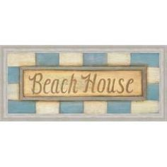 Beach Cruiser Cottage II Poster Print by Paul Brent (14 x 11)