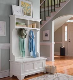 front entry way ideas with storage | Naples Hall Stand Entryway Coat Rack And Storage Bench
