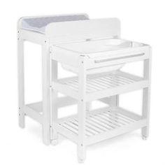 table langer baignoire et place pour tummy tub