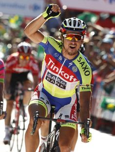 Peter Sagan (Tinkoff - Saxo) wins stage 3 of the Vuelta a Espana 2015 (Getty…