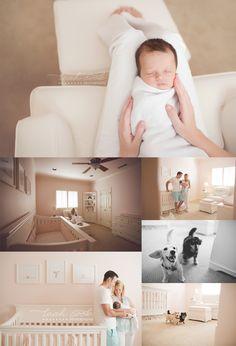 Gorgeous newborn photos. I love the innocence and simplicity of these photos | lifestyle newborn photos | family photos