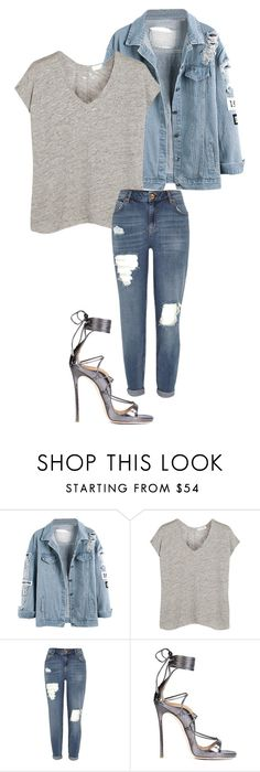 """""""Say, say"""" by agnesegundega ❤ liked on Polyvore featuring rag & bone, River Island and Dsquared2"""