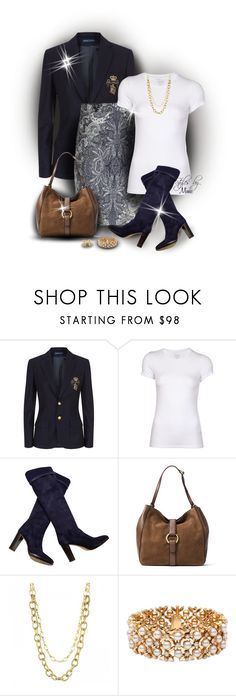"""""""Kickin' High Style (1.16.17)"""" by stylesbymimi ❤ liked on Polyvore featuring Ralph Lauren Blue Label, Promod, Majestic Filatures, Loro Piana, MICHAEL Michael Kors, Blue Nile and de Grisogono"""