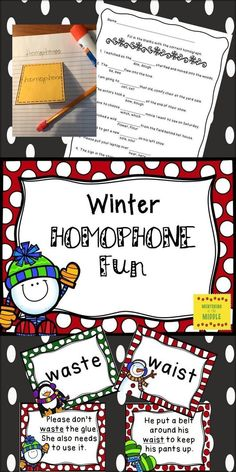 Here's a fun way to have your students learn about words that sound alike but have very different meanings. Print the cards on card stock and laminate for a quick game. Use cards for review or practice. Directions for games are included, as are coloring sheets and a worksheet that can be used for practice or assessment.