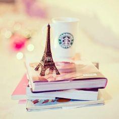 book, paris, and starbucks image Cute Disney Wallpaper, Cute Wallpaper Backgrounds, Nature Wallpaper, Cute Wallpapers, Landscape Wallpaper, Miniature Photography, Cute Photography, Paris Photography, Beautiful Paris
