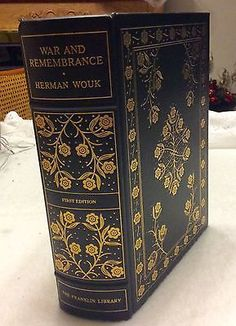 1979 Franklin Library First Edition War and Rememberance Herman Wouk near mint in Books, Antiquarian & Collectible | eBay